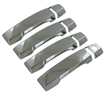 Nissan Titan King Cab Chrome Door Handle Covers, 2004, 2005, 2006, 2007, 2008, 2009, 2010, 2011, 2012, 2013, 2014