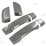 Nissan Armada Chrome Door Handle Covers, 2004, 2005, 2006, 2007, 2008, 2009, 2010, 2011, 2012, 2013, 2014, 2015