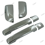 Nissan Pathfinder Chrome Door Handle Covers, 2005, 2006, 2007, 2008, 2009, 2010, 2011, 2012
