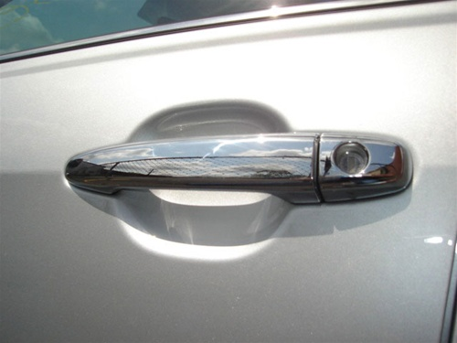 Accessories Chrome Smart Door Handle Covers Trims For 2004-2010 Toyota Sienna