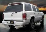 Cadillac Escalade Painted Rear Spoiler / Wing, 2002, 2003, 2004