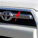 Toyota 4Runner Front Chrome Bumper Trim, 2010, 2011, 2012, 2013