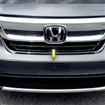 Honda Pilot Chrome Front Bumper Accent Trim, 2016, 2017, 2018, 2019