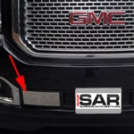 GMC Yukon Chrome Front Bumper Trim, 2015, 2016, 2017, 2018, 2019, 2020