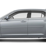 Chrysler 300 Painted Body Side Molding, 2011, 2012, 2013, 2014, 2015, 2016, 2017, 2018, 2019, 2020, 2021