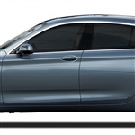 BMW 5-Series Gran Tourismo Painted Body Side Molding, 2011, 2012, 2013, 2014, 2015, 2016, 2017