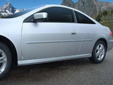 Honda Accord Coupe Painted Body Side Moldings 2003 2012