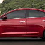 Hyundai Accent Painted Body Side Moldings, 2018, 2019, 2020
