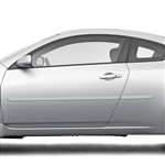 Nissan Altima Coupe Painted Body Side Moldings, 2008, 2009, 2010, 2011, 2012, 2013