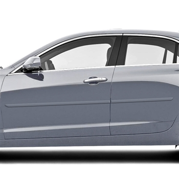 Cadillac ATS Painted Body Side Molding, 2015, 2016, 2017, 2018