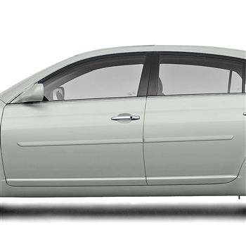 Toyota Avalon Painted Body Side Moldings, 2005, 2006, 2007, 2008, 2009, 2010, 2011, 2012