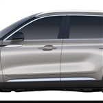 Lincoln Aviator Painted Body Side Moldings, 2020, 2021, 2022