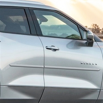 Chevrolet Blazer Painted Body Side Moldings, 2019, 2020, 2021