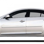 Kia Cadenza Painted Body Side Moldings, 2014, 2015, 2016, 2017, 2018, 2019, 2020