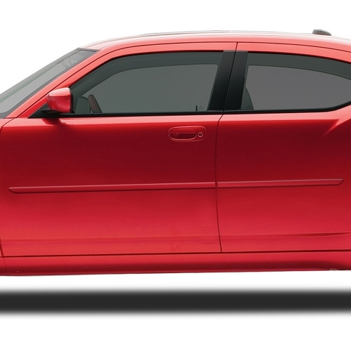 Dodge Charger Painted Body Side Moldings, 2006 - 2010