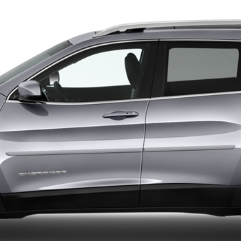 Jeep Cherokee Painted Body Side Moldings, 2014, 2015, 2016, 2017, 2018, 2019
