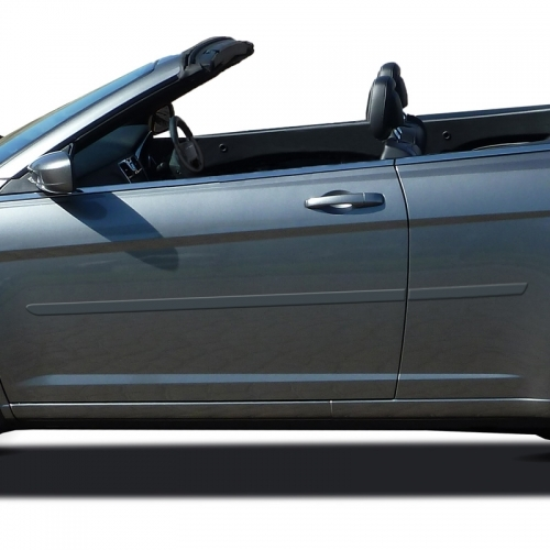 Chrysler 200 Convertible Painted Body Side Moldings, 2011