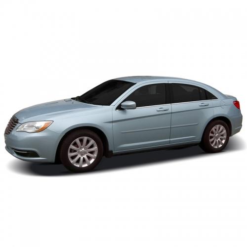 Chrysler 200 Sedan Painted Body Side Moldings, 2011, 2012