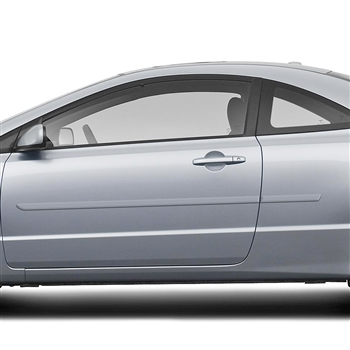 Honda Civic Coupe Painted Body Side Moldings, 2006, 2007, 2008, 2009, 2010, 2011