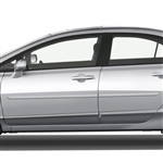 Honda Civic Sedan Painted Body Side Moldings, 2006, 2007, 2008, 2009, 2010, 2011
