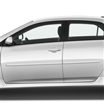 Toyota Corolla Painted Body Side Moldings, 2009, 2010, 2011, 2012, 2013