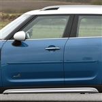 Mini Cooper Countryman Painted Body Side Molding, 2010, 2011, 2012, 2013, 2014, 2015, 2016, 2017, 2018
