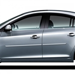 Chevrolet Cruze Painted Body Side Moldings, 2011, 2012, 2013, 2014, 2015