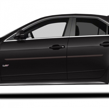 Cadillac CTS Sedan Painted Body Side Molding, 2008, 2009, 2010, 2011, 2012, 2013