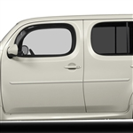 Nissan Cube Painted Body Side Moldings, 2009, 2010, 2011, 2012, 2013, 2014