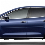 Mazda CX-7 Painted Body Side Moldings, 2007, 2008, 2009, 2010, 2011, 2012