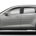 Mazda CX-9 Painted Body Side Moldings, 2007, 2008, 2009, 2010, 2011, 2012, 2013, 2014, 2015, 2016, 2017, 2018, 2019