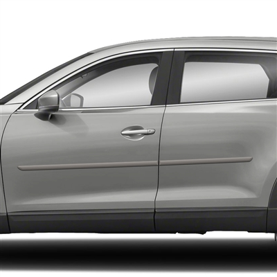 Mazda CX-9 Painted Body Side Moldings, 2007, 2008, 2009, 2010, 2011, 2012, 2013, 2014, 2015, 2016, 2017, 2018