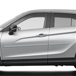 Mitsubishi Eclipse Cross Painted Body Side Moldings, 2018, 2019