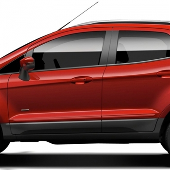Ford EcoSport Painted Body Side Moldings,  2018, 2019. 2020, 2021