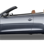 Volkswagen EOS Painted Body Side Moldings, 2007, 2008, 2009, 2010, 2011, 2012, 2013, 2014, 2015
