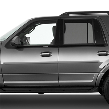 Ford Expedition Painted Body Side Moldings, 2011, 2012, 2013, 2014, 2015, 2016