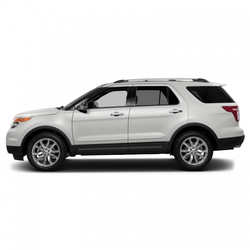 Ford Explorer Painted Body Side Moldings 2011 2012 2013