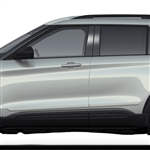 Ford Explorer Painted Body Side Moldings, 2020