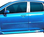 Honda Fit Painted Body Side Moldings, 2007, 2008, 2009, 2010, 2011, 2012, 2013, 2014