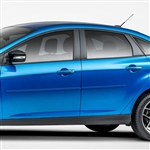 Ford Focus Painted Body Side Moldings, 2008, 2009, 2010, 2011, 2012, 2013, 2014, 2015, 2016, 2017, 2018