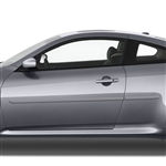 Infiniti G37 Coupe Painted Body Side Moldings, 2008, 2009, 2010, 2011, 2012, 2013