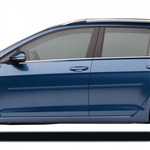 Volkswagen Golf sportwagen Painted Body Side Moldings, 2015, 2016, 2017, 2018, 2019, 2020