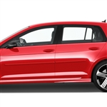 Volkswagen Golf 4 Door Painted Body Side Moldings, 2010, 2011, 2012, 2013, 2014