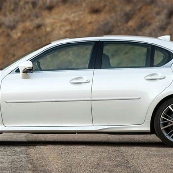 Lexus GS Series Painted Body Side Moldings, 2013, 2014, 2015, 2016, 2017, 2018