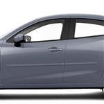 Scion iA Painted Body Side Moldings, 2016, 2017, 2018