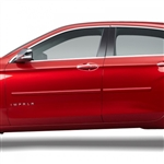 Chevrolet Impala Painted Body Side Moldings, 2014, 2015, 2016, 2017, 2018, 2019