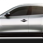 Infiniti G35 Sedan Painted Body Side Moldings, 2007, 2008, 2009, 2010, 2011, 2012, 2013