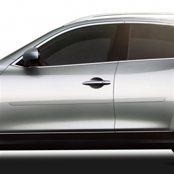 Infiniti Q40 Painted Body Side Moldings, 2007, 2008, 2009, 2010, 2011, 2012, 2013, 2014, 2015