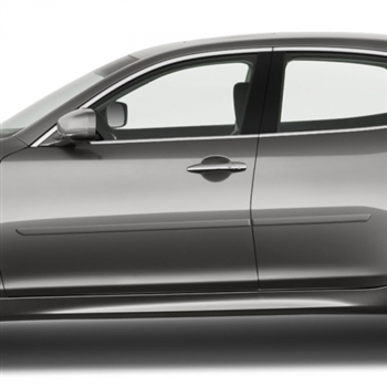 Infiniti Q70 Painted Body Side Moldings, 2011, 2012, 2013, 2014, 2015, 2016, 2017, 2018, 2019