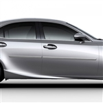 Lexus IS Painted Body Side Moldings, 2014, 2015, 2016, 2017, 2018, 2019, 2020